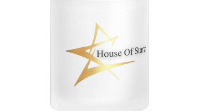 House Of Starz Frosted Glass Mug