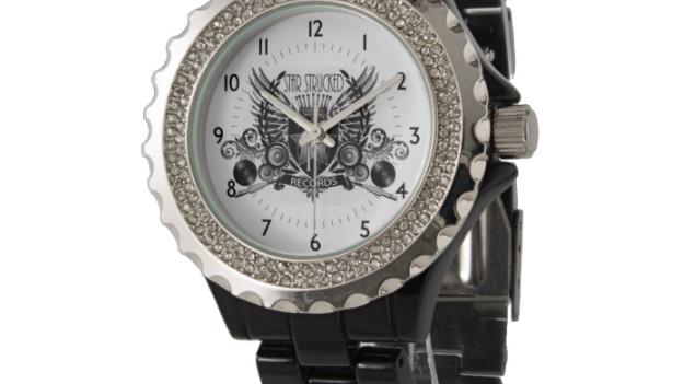 copy of SSR Women's Rhinestone Black Enamel Watch