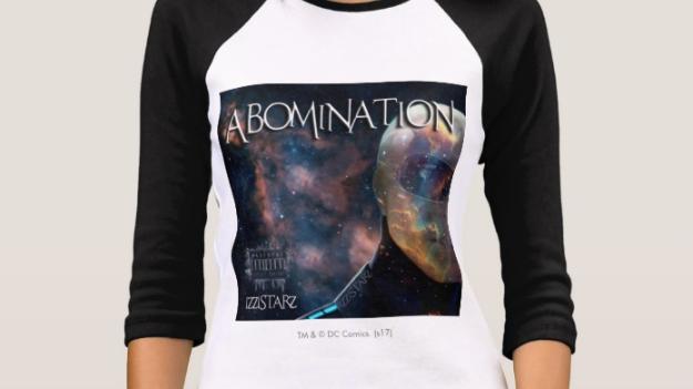 Women's Abomination Bella+Canvas 3/4 Sleeve Raglan T-Shirt