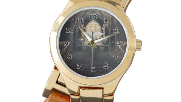 Abomination - Women's Wraparound Gold Watch