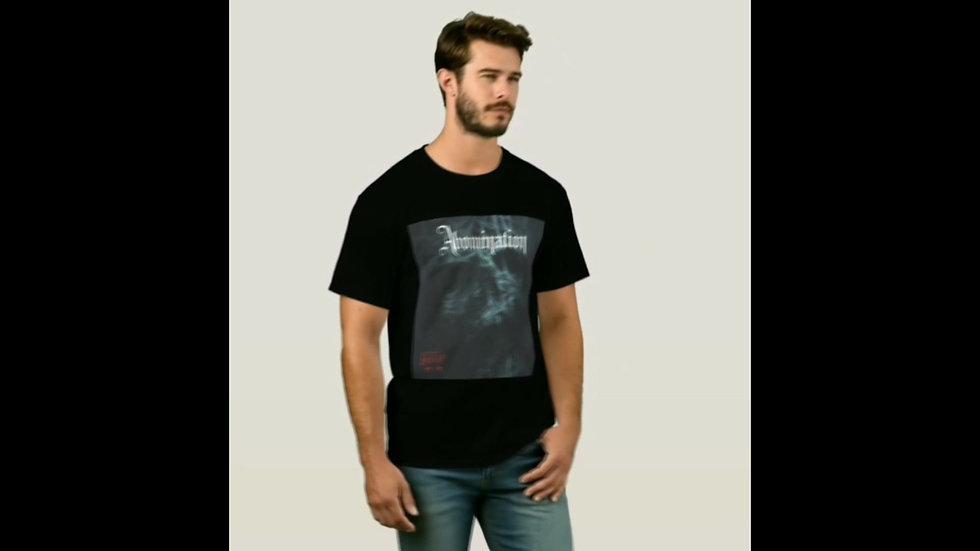 ABOMINATION Black Skull T-Shirt - IzzI Starz