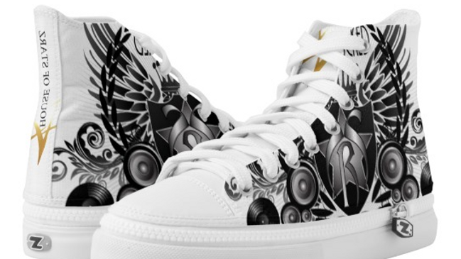 House Of Starz Zipz High Top Shoes