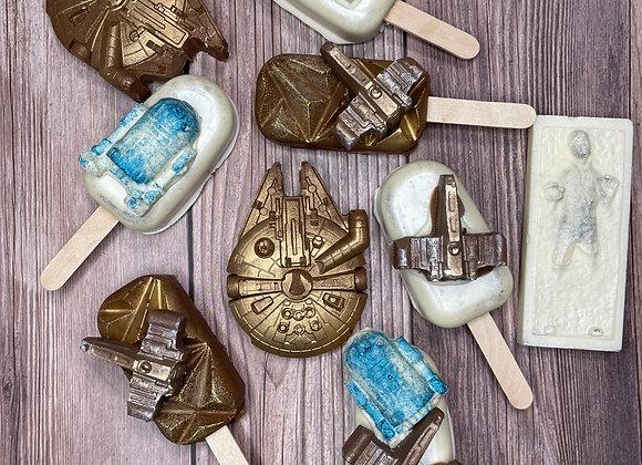 Themed Cake Pops & Chocolates Box