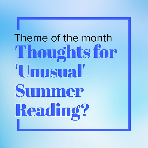 RTS (Read, Talk and Share) Bookclub of August