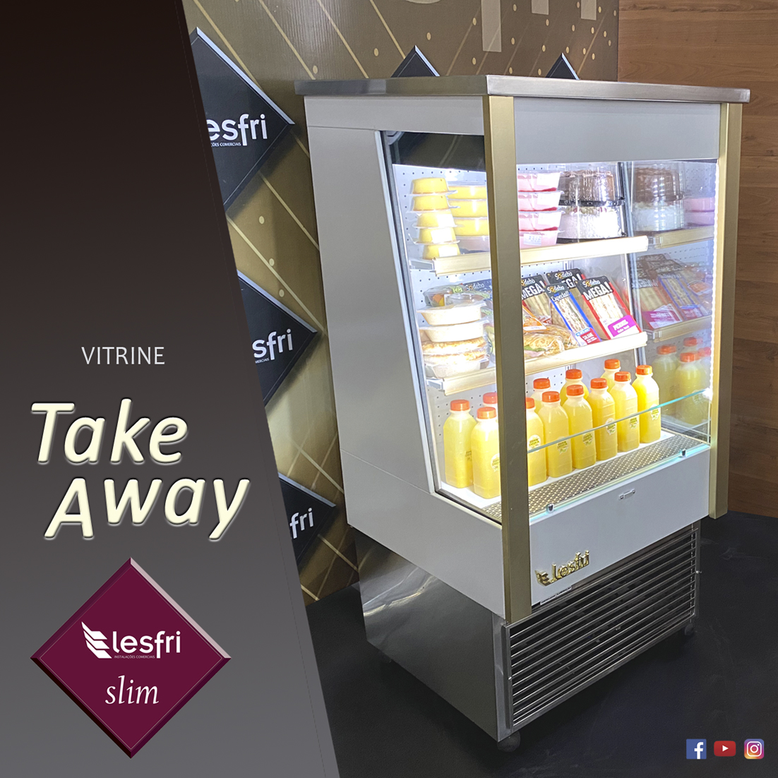 Arte Vitrine Take Away (para interno do