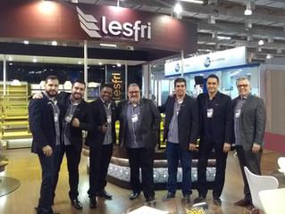 A participação da Lesfri na Fipan 2018 foi um sucesso.