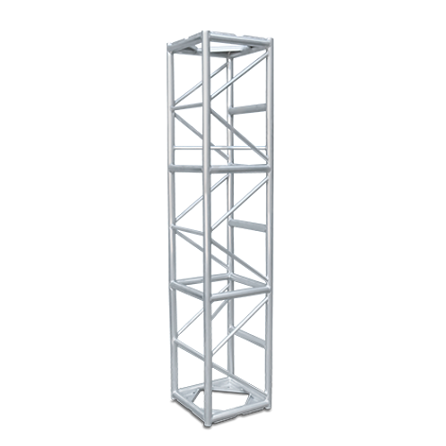 """Galaxy Stage 8' LONG, 20.5"""" BOX TRUSS WITH BOLTS"""