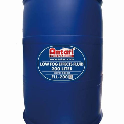 Antari 200 Liter Drum of Low Lying Fog Fluid