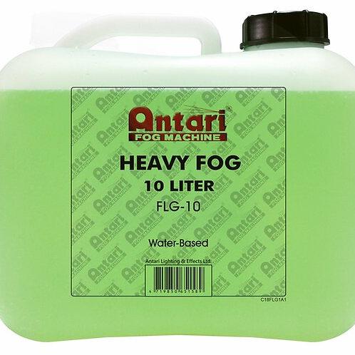 Antari - Heavy Fog Fluid - 10 Liter / 2.5 Gallon Bottle