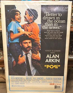 1950s-60s Movie Poster - Popi