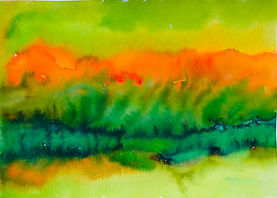 Ian Jones 2020 Watercolour on paper 29 x