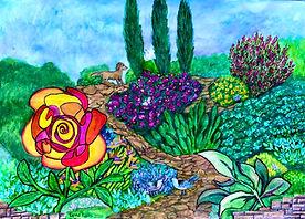 Lynne_Kells_2020_'Garden_rooms'_Mixe