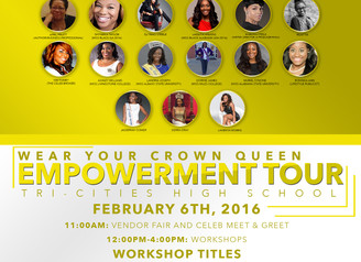 Educated Girls Rock Founder to be apart of an Empowerment Tour.