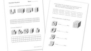 Mathematik Arbeitsblatt Baupläne