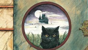 "picture book ""A Dark, Dark Tale"" by Ruth Brown"