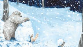 Herr Eichhorn und der erste Schnee von Sebastian Meschenmoser