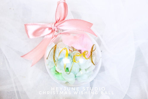 BASIC ORNAMENTS WITH RIBBON