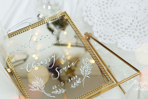 WEDDING MIRROR (WELCOME BOARD)