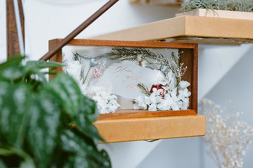 永生花木盒書法工作坊Floral Wooden Box Workshop