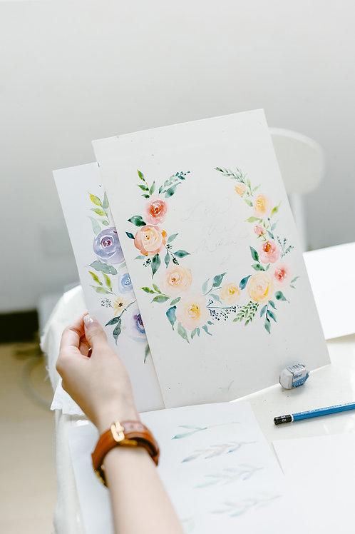 水彩常規課Regular Watercolor Course