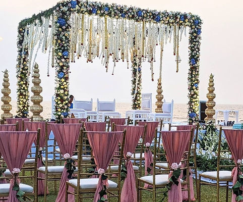 KV Designs & Decor - desi wedding - flor