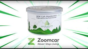 Accelerate Car Fragrance | Zoomcar