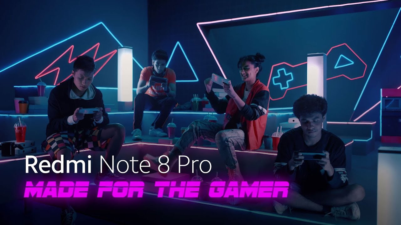 Redmi Note 8 Pro  | Made for the Gamer