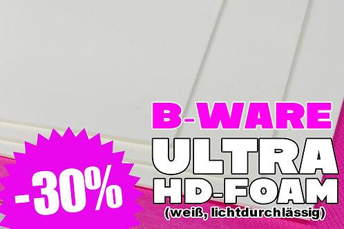 B-Ware: Ultra HD weiß (lichtdurchlässig)