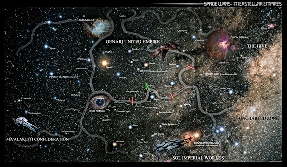 Spacewars Map