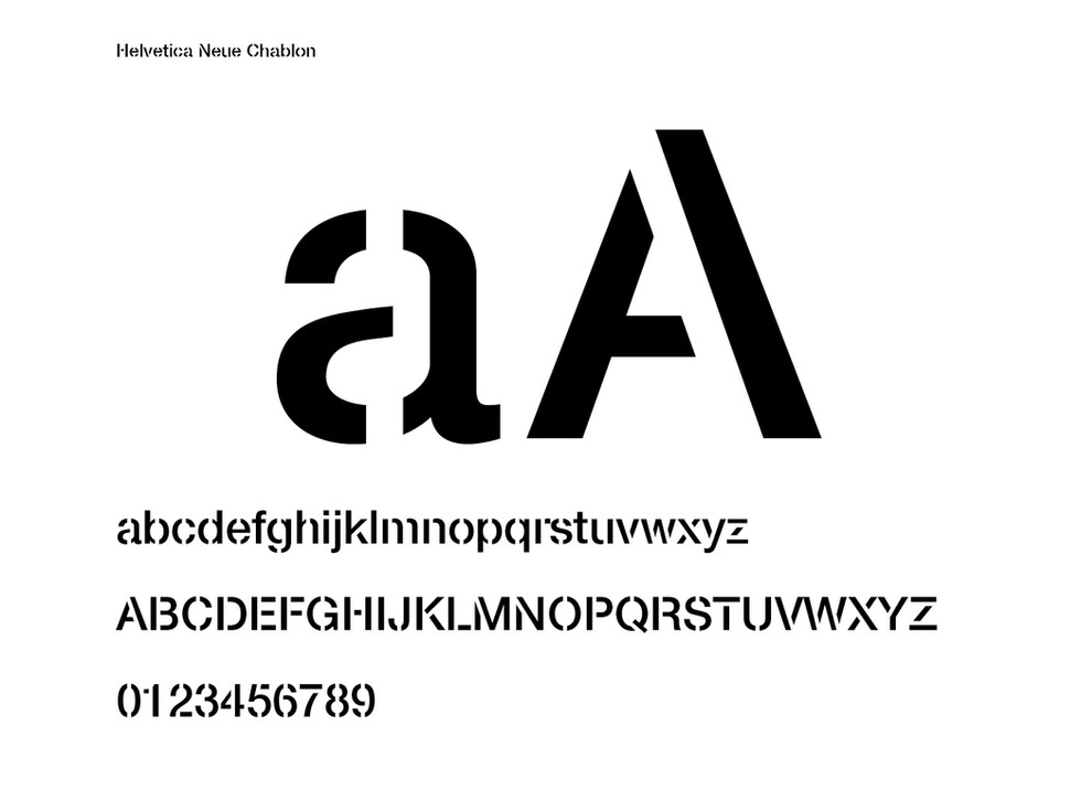 HUBLOT Fonts