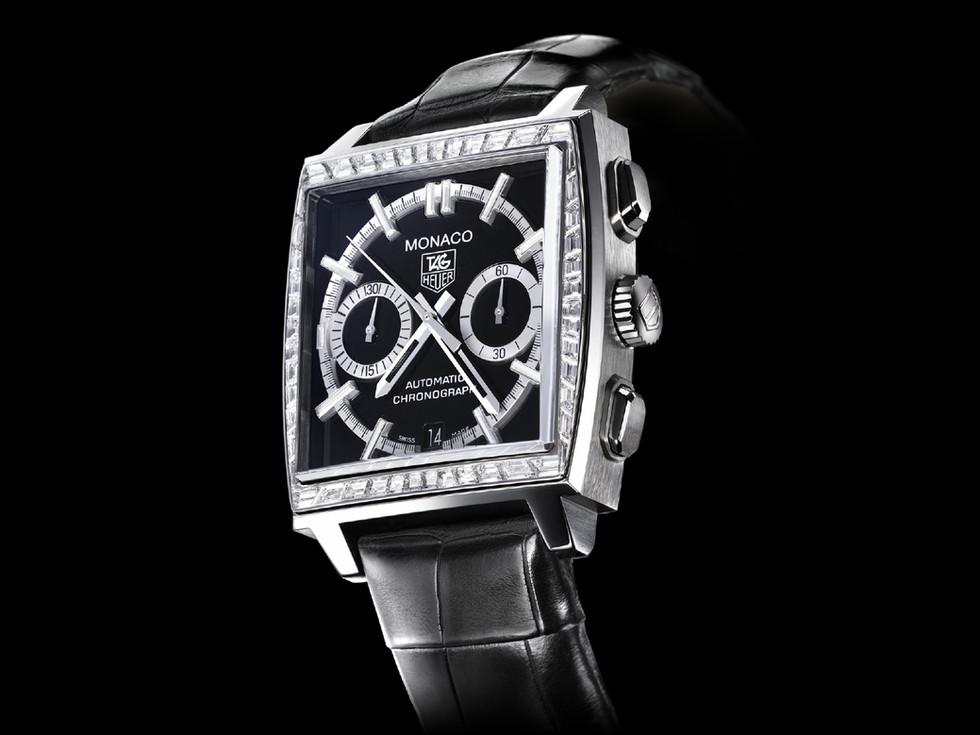 Monaco - Chronograph - Serie 2 - Stone set