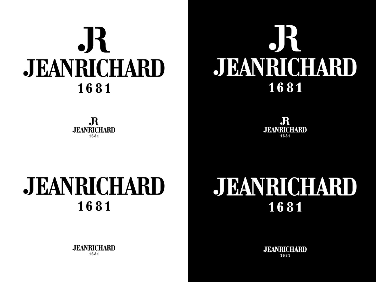 Logotype and base line with and with and without sign