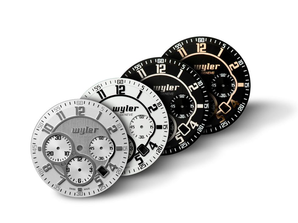 Code-R Chronograph - Dials