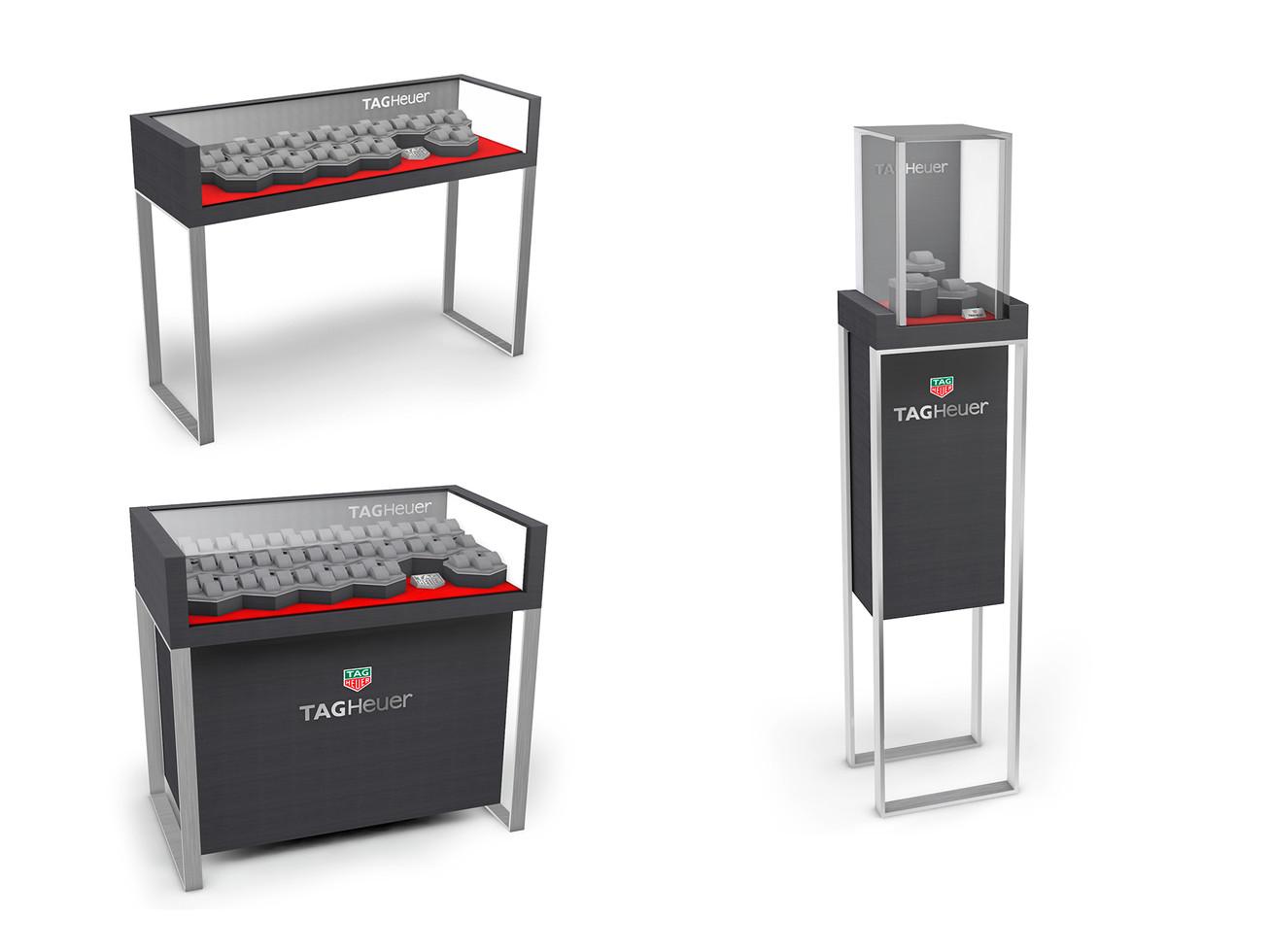 Corner Concept Furniture - Counter & Tower Showcases