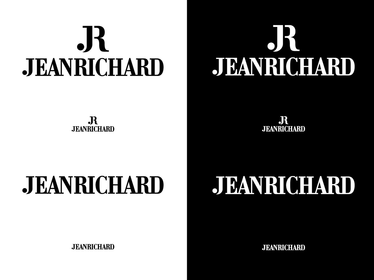 Logotype with and without sign