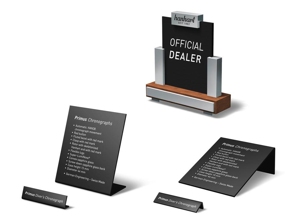 Name plates - Official Dealer plate