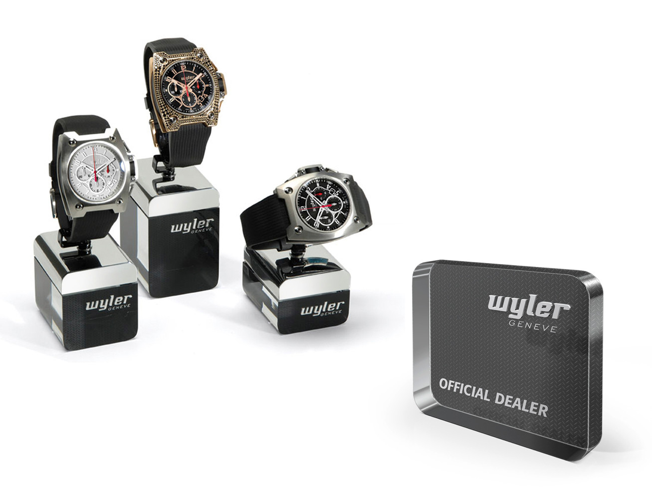 Watch holders - Official Dealer plate