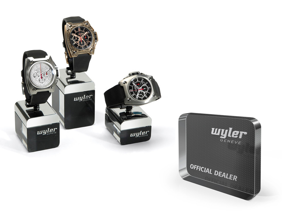 Watch holders - Official Dealer plate