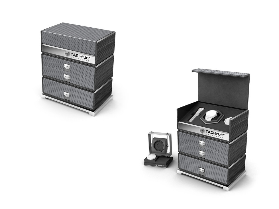 Connected Watch Luxe Packaging - Tourbillon