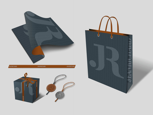 Packaging paper, ribbon, box and bag