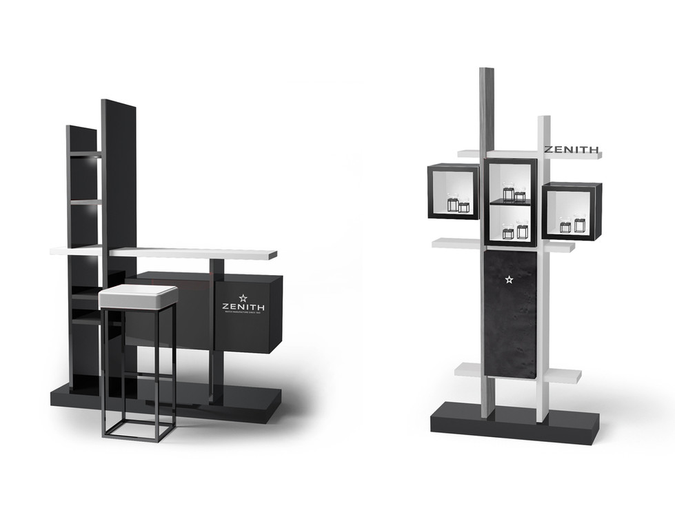 Corner Concept Furniture - Bar & Totem Showcase