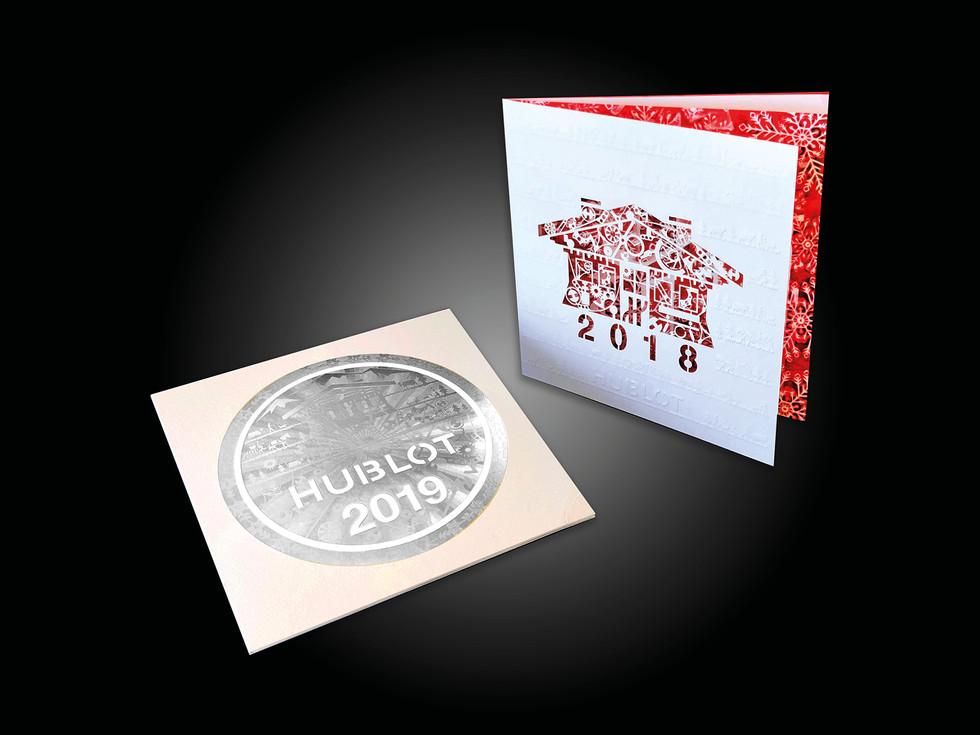 Greeting card 2018-2019