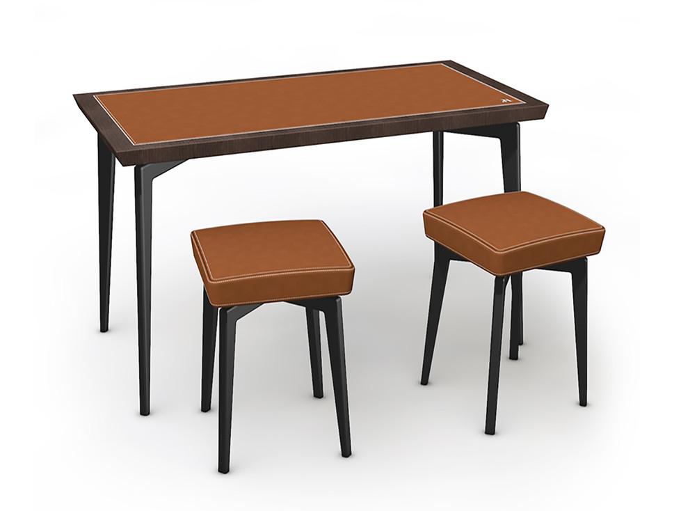 Corner Concept Furniture - Sales table + stools
