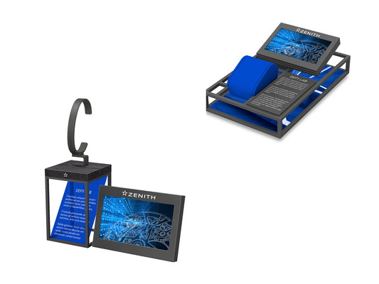 DEFY 21 - Animation Display with LCD screen