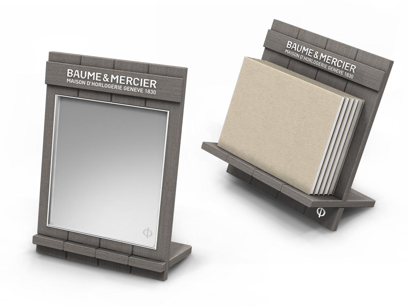 Retail accessories - Mirror & Catalog holder