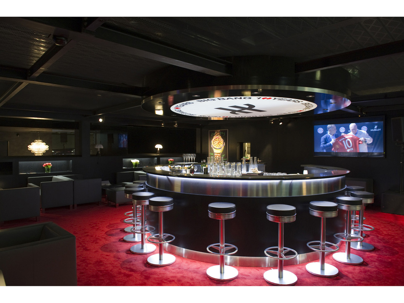 Baselworld interior - Top floor main Bar