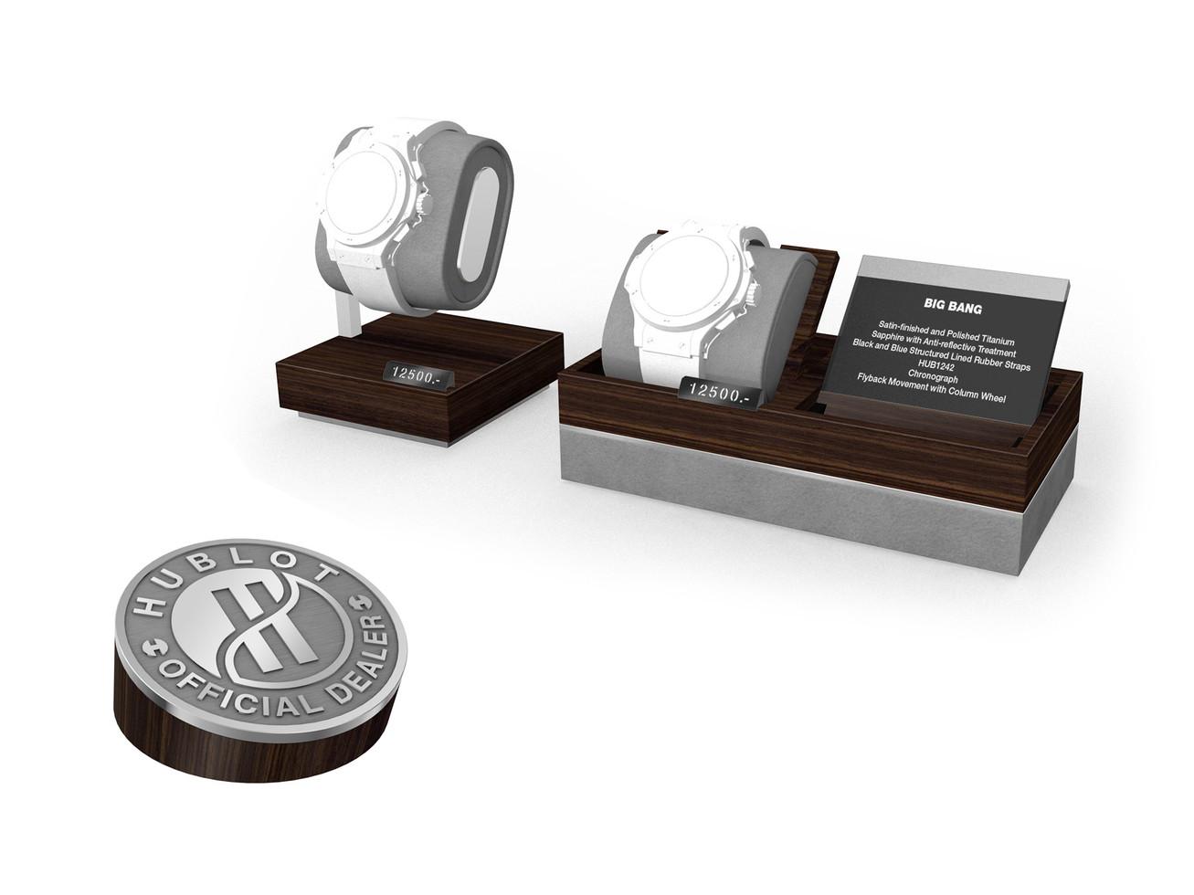 Display Concept - Generation 3  - Watch Holder concept & Official Dealer plate