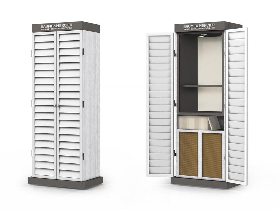 Corner Concept Furniture - Cabin Showcase