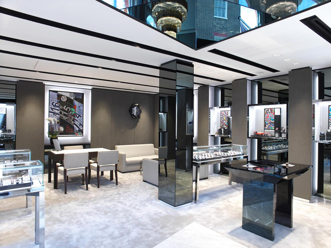 Boutique interior - Generation 2 - London