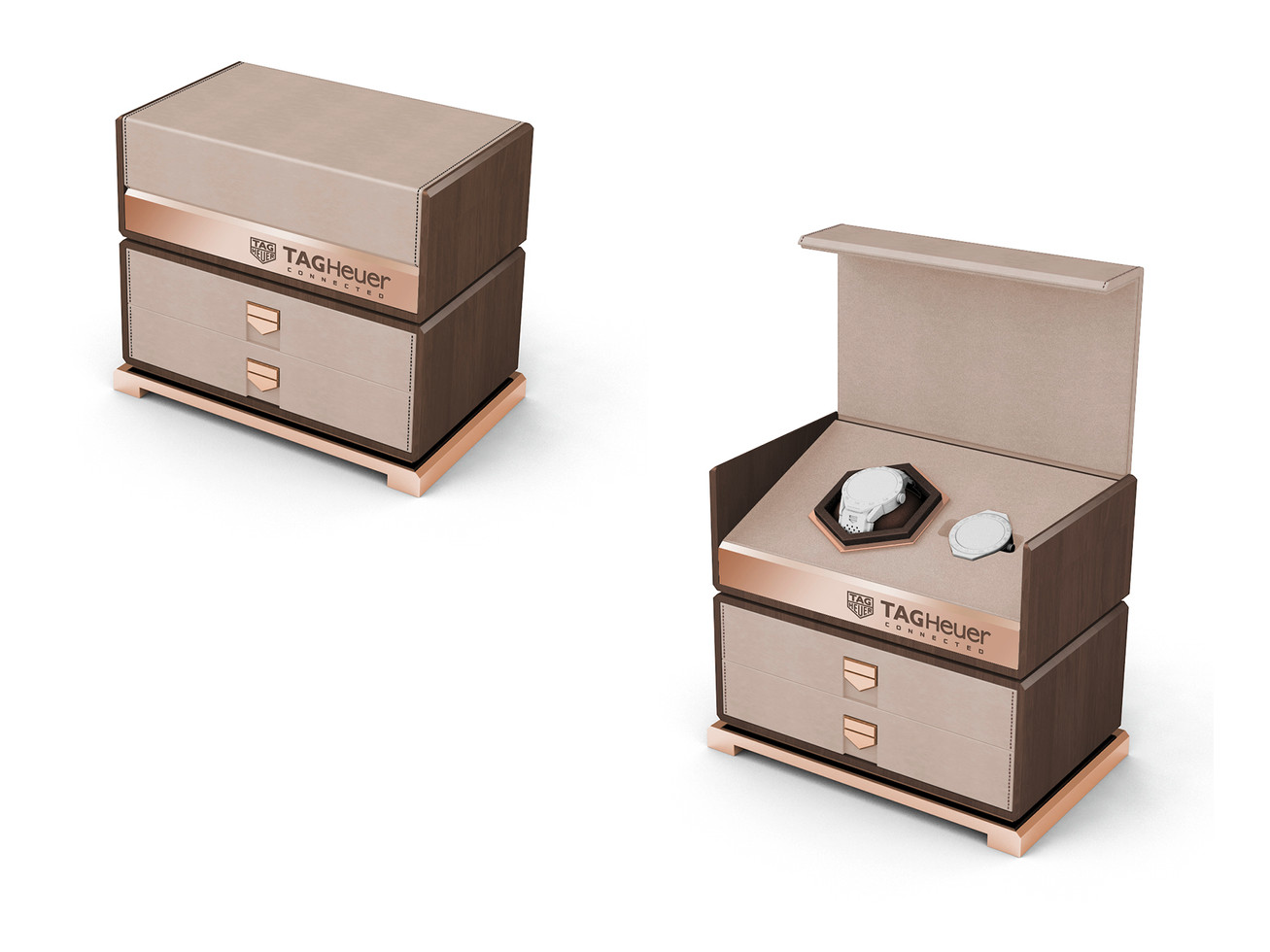 Connected Watch Luxe Packaging